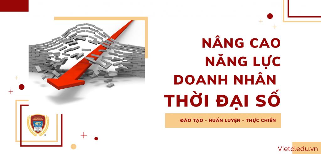 Nâng cao năng lực doanh nhân thời đại số - Viện doanh nhân Vietd