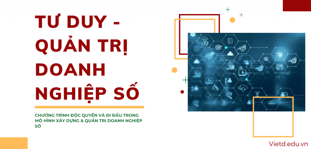 Tư duy - Quản trị doanh nghiệp số - Viện Doanh nhân Vietd